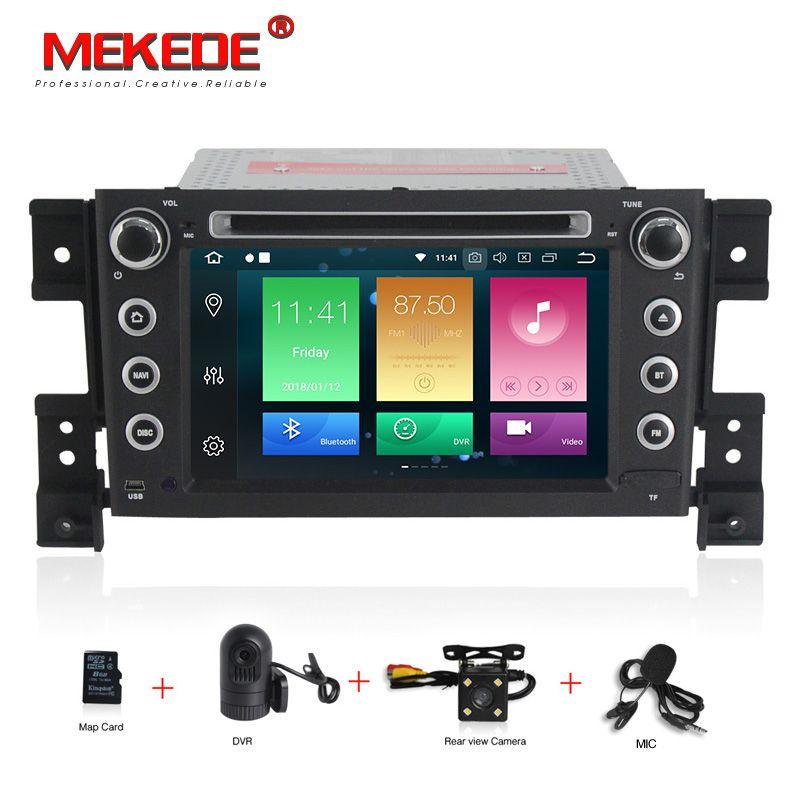 MEKEDE Android 8.0 auto DVD octa Core 4 gb RAM 32 gb rom mit IPS bildschirm multimedia-player für SUZUKI GRAND VITARA 2005-2012 gps