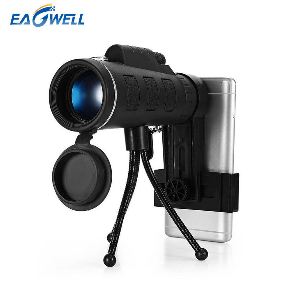 Universal 40X60 Zoom Telescope HD Phone Lens for iPhone X 8 plus For Samsung Xiaomi Outdoor Camping Fishing Tripod Mobile Lens