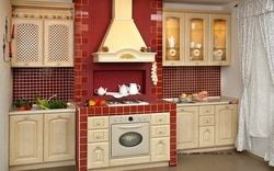 Классическая древесины дуба кухонный шкаф (lh-sw078)