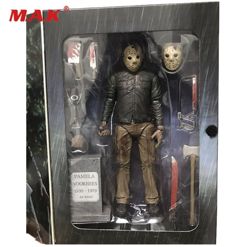 18cm Friday The 13th The Final Chapter Freddy Vs Jason PVC Action Figure Model Collections With Box