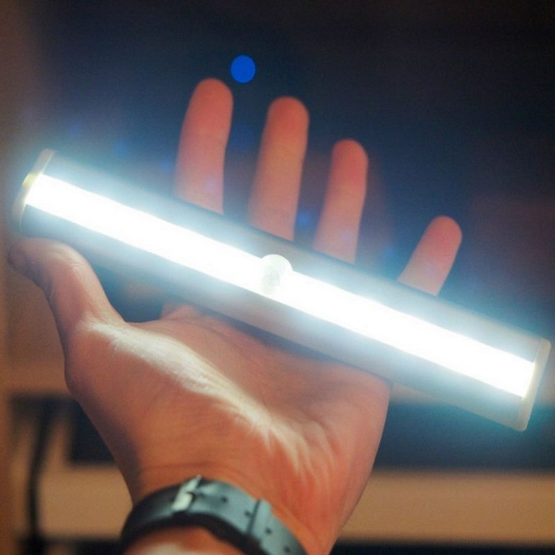Alta calidad LED IR infrarrojos detector de movimiento inalámbrico sensor armario luz lámpara