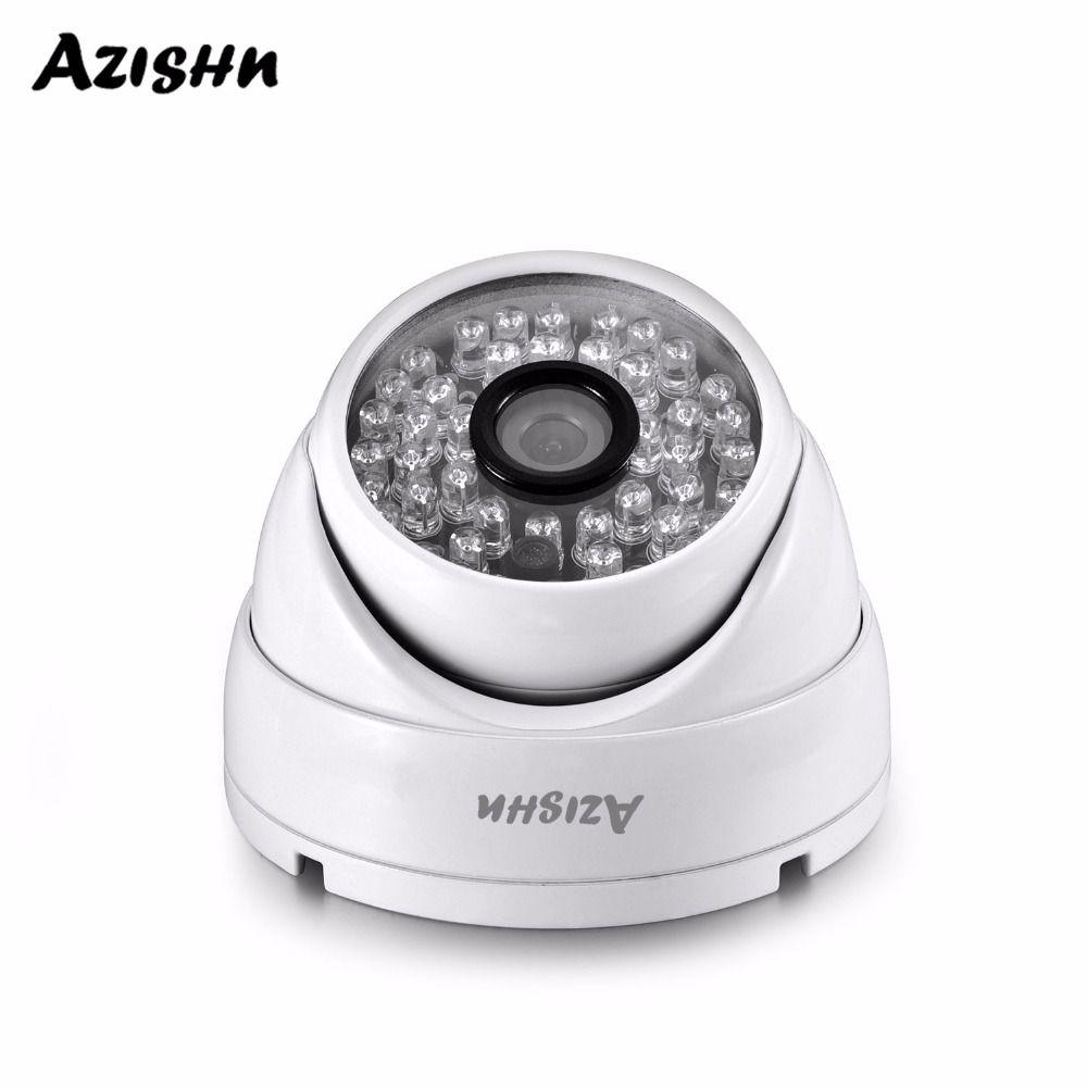AZISHN Full HD 3MP SONY IMX307 capteur POE caméra dôme de sécurité ONVIF H.265 IR Vision nocturne caméra de Surveillance étanche extérieure