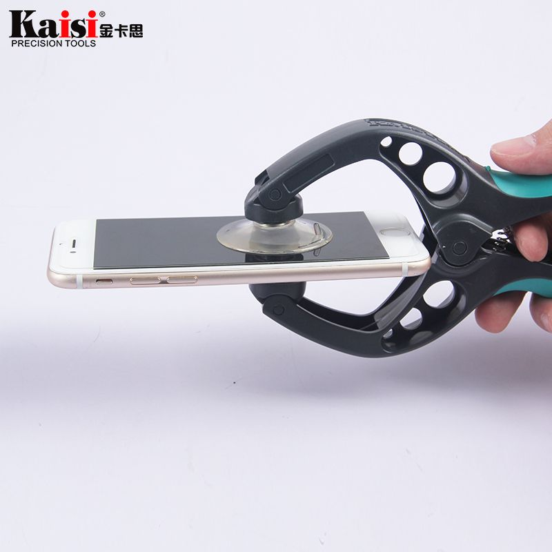Kaisi Mobile Phone LCD Screen Opening Pliers Suction Cup for iPhone iPad Samsung Cell Phone Repair Tool