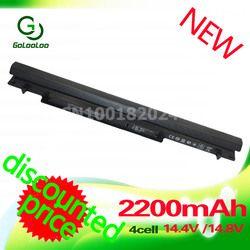 Golooloo Baterai 14.4 V 2200 MAh untuk ASUS A31-K56 A32-K56 A41-K56 A42-K56 K56C K56CA K56CB K56CM K56V A56C A56CB A56CM a56V Series