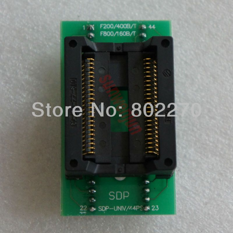 High Quality ZIF Socket  PSOP44/SOP44 to DIP44/SOP44/SOIC44 IC test socket programmer adapter/converter for 48-PIN Programmers