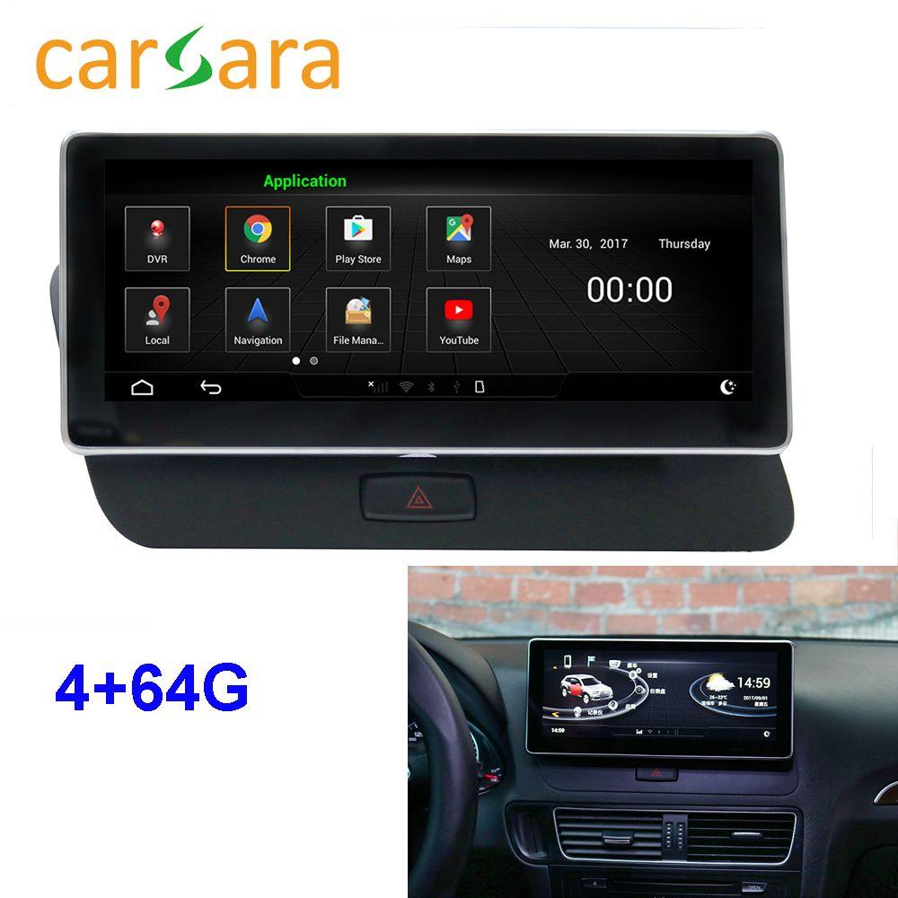 Monitor Q5 Radio Upgrade Android Multifunktionale Touchscreen Auto Audio Video Unterhaltung Navigation System 4g RAM 64g ROM