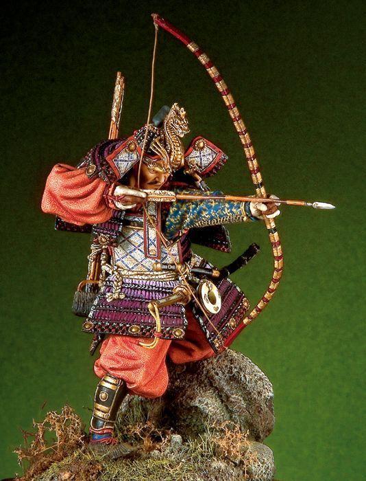 Samouraï japonais généraux (la période Heian) 90mm