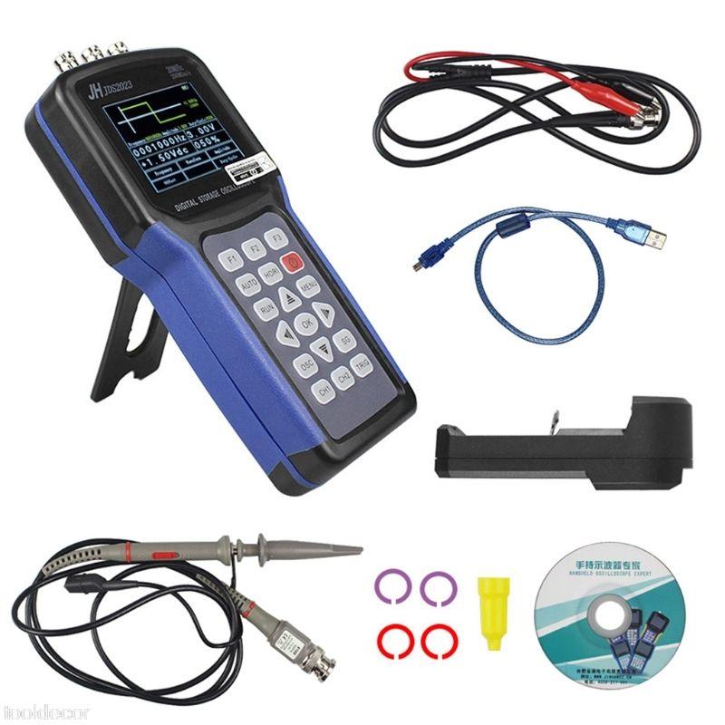JDS2023 Digital Handheld Oscilloscope 1 Channels 20MHz Oscilloscope -B119