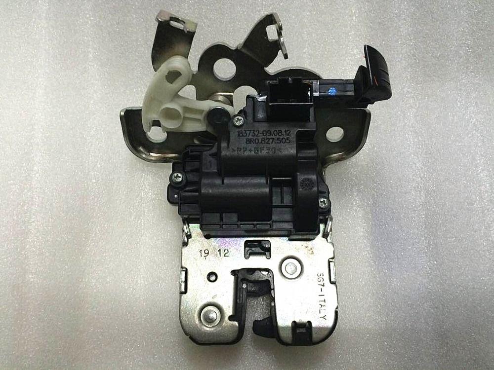 8RD/8R0 827 505 Trunk Lock Block Rear Trunk Lid Lock Latch FOR AUDI A1 A3 A4 A6 C7 A7 Q3 Q5 Q7 Skoda Fabia Octavia Fapid seat