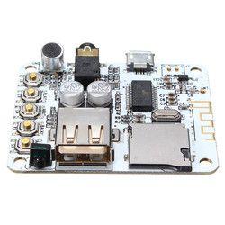 LEORY Smart APP Control Newest Bluetooth 4.2 HIFI Audio Amplifier Board Silver DIY Bluetooth Wireless Audio Amplifier Chips