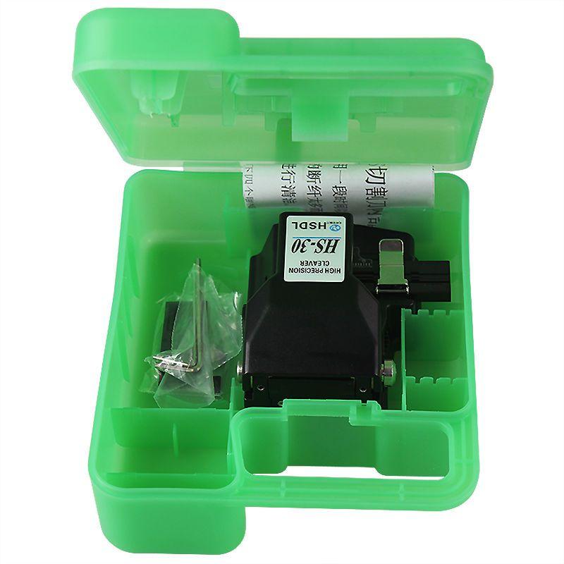 Livraison gratuite En Gros prix, haute précision Optique fiber de coupe HS-30 fusion de fiber optique cleaver