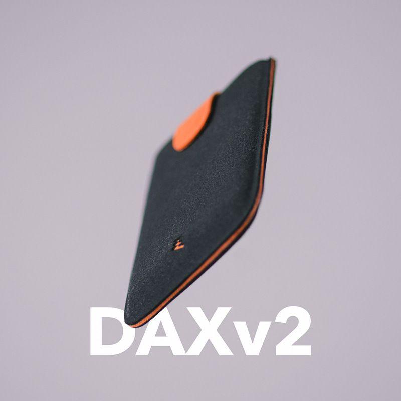 2018 New Arrival DAX V2 Mini Slim Portable Card Holders Pulled <font><b>Design</b></font> Men Wallet Gradient Color 5 Cards Money Short Women Purse