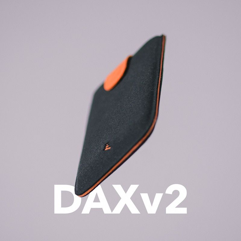2018 New Arrival DAX V2 <font><b>Mini</b></font> Slim Portable Card Holders Pulled Design Men Wallet Gradient Color 5 Cards Money Short Women Purse