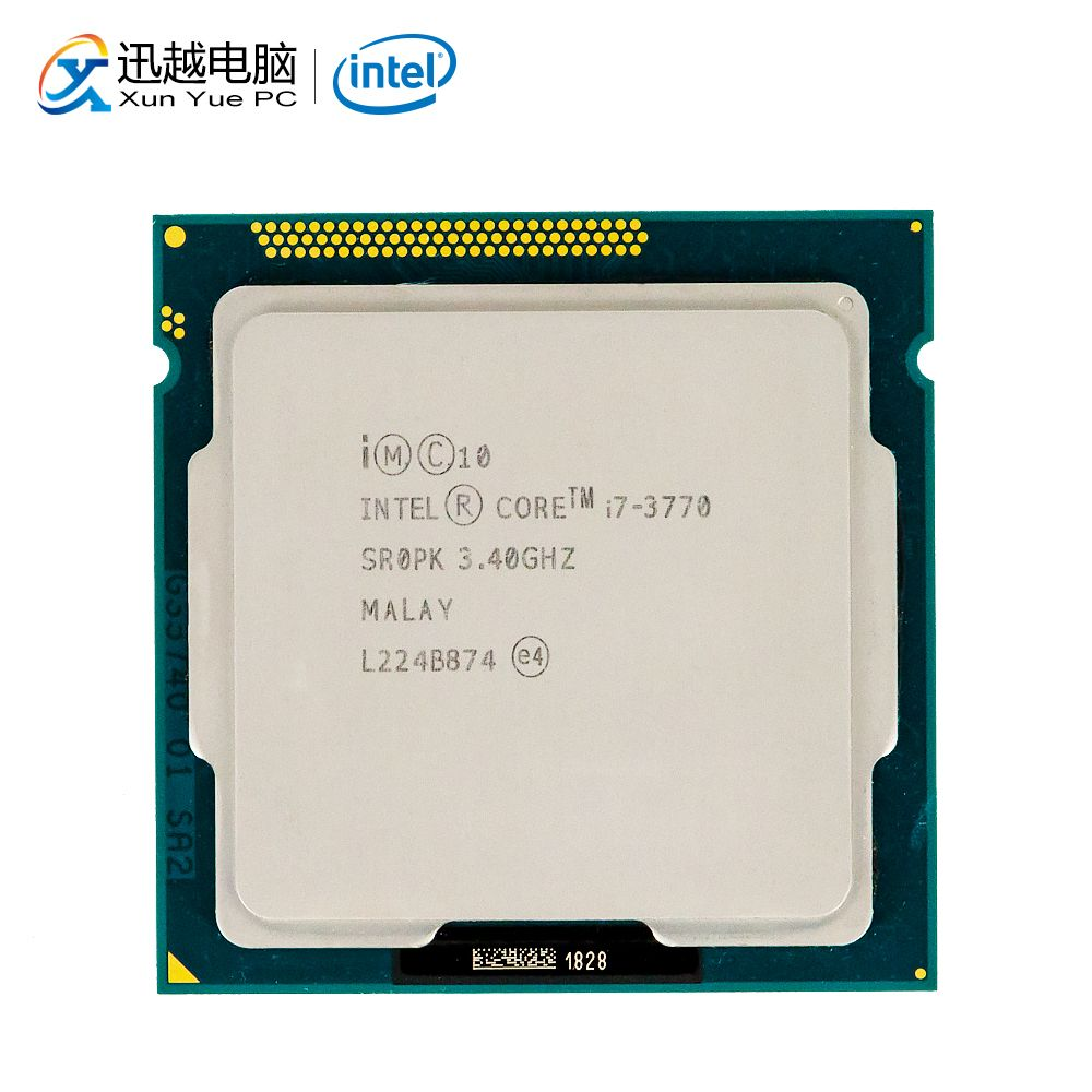 Intel Core i7-3770 Desktop Prozessor i7 3770 Quad-Core 3,4 GHz 8 MB L3 Cache LGA 1155 Server Verwendet CPU