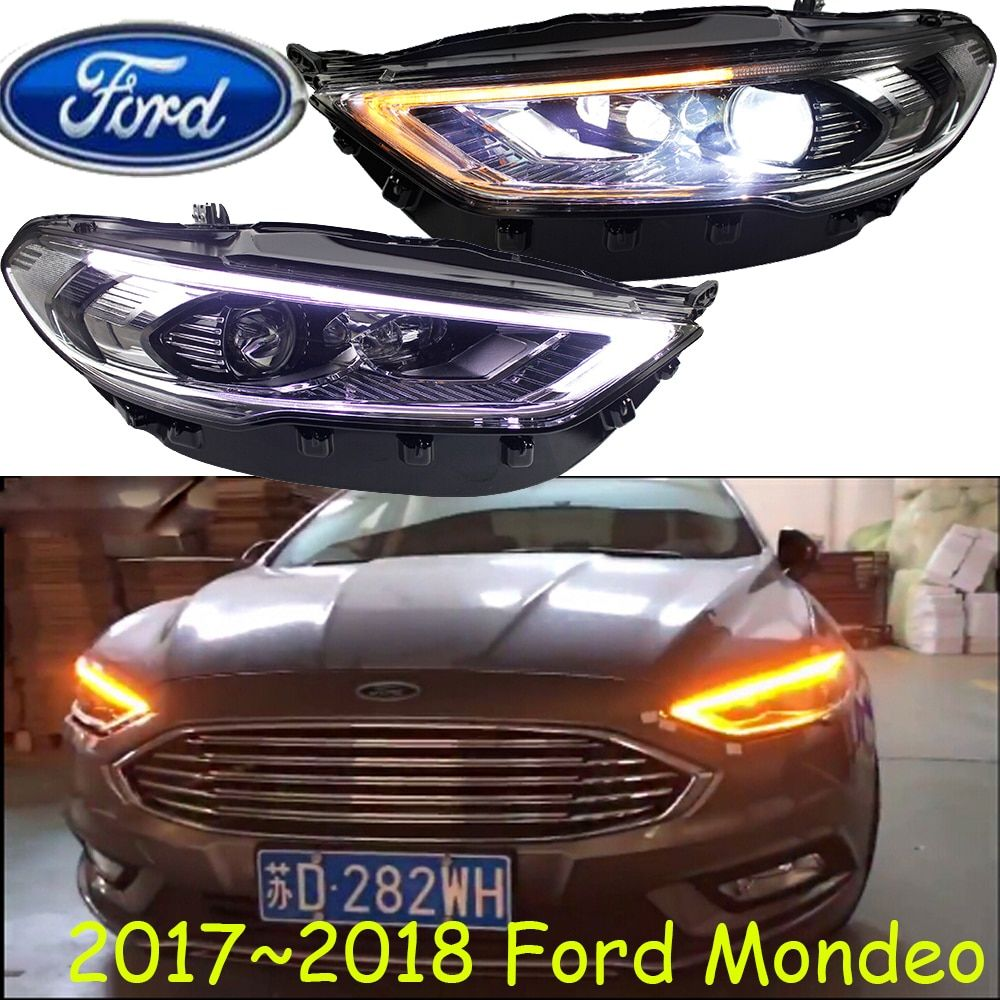 Fusion,HID,2017~21018,Car Styling for Monde Headlight,Transit,Explorer,Topaz,Edge,Taurus,Tempo,spectron,Falcon,Monde head lamp