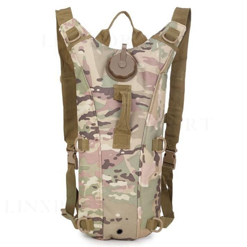 3L WaterBag Molle Military Tactical Hydration Backpack Outdoor Camping Liner Camelback CP Camo Water Bladder Bag For Cycling