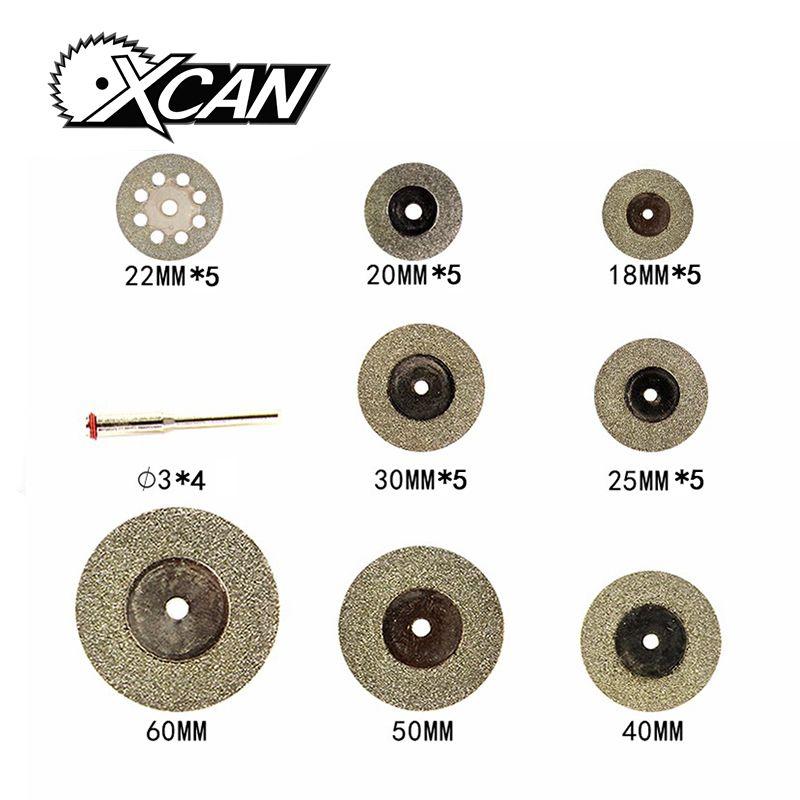 Diamant disque de coupe pour outils Rotatifs accessoires mini lame de scie diamant meule ensemble d'outils rotatifs roue scie circulaire 32 pcs