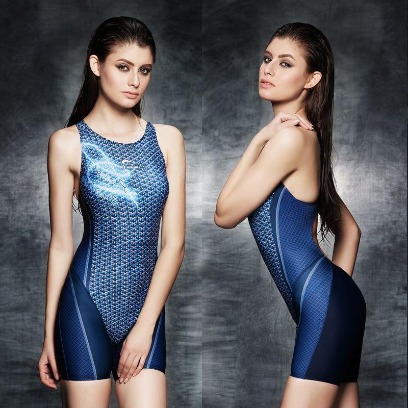 2017 Sexy une pièce femmes maillots de bain professionnel grande taille compétition maillot de bain sport Body Suit marque de haute qualité maillot de bain