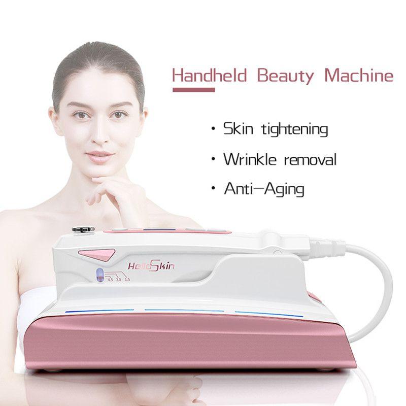 2018 Ultrasonic HIFU Skin Rejuvenation RF Lifting Beauty Therapy High Intensity Focused Ultrasound Skin Care Facial Lifting