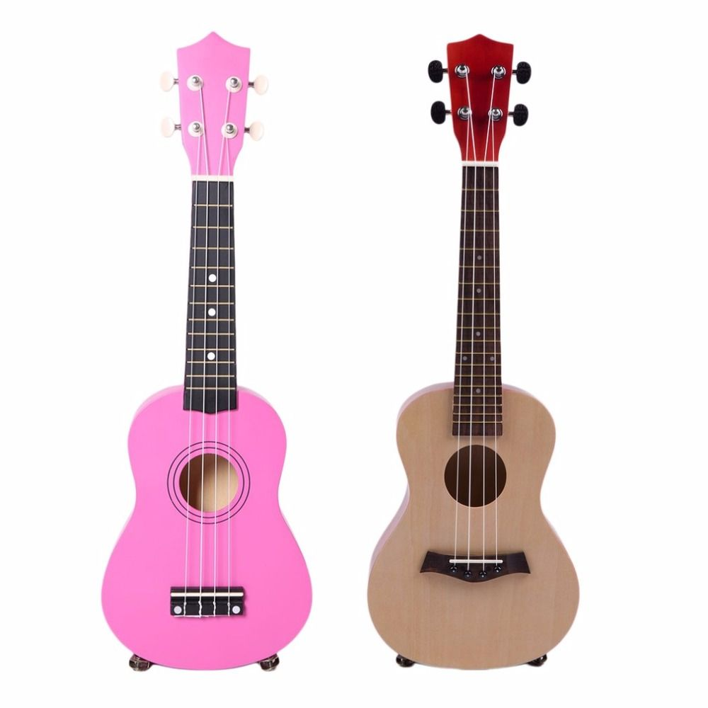 23 Inch Universal Wooden Ukulele Portable Size Hawaii Style Rosewood Ukelele Music Instrument For Beginners Players new
