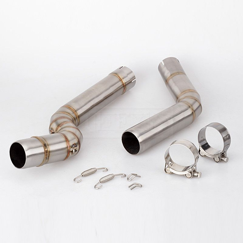 For Honda CBR600RR CBR 600RR CBR 600 RR 2005 to 2015 2016 2017 2018 Slip-on Motorcycle Exhaust Middle Link Pipe Escape System