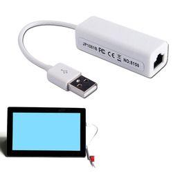 Etmakit USB Ethernet адаптер Usb 2,0 Сетевая карта USB к Интернет RJ45 Lan 10 Мбит/с для Mac OS android-планшет lappc Windows 7 8