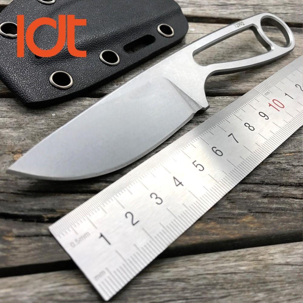 LDT Rowen Ant 12992 couteau à lame fixe tactique couteaux Kerambit D2 lame KYDEX Camping couteau de chasse de poche outils droits EDC