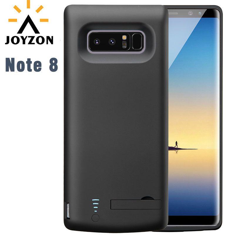 Heißer Verkauf 6500 mAh Hohe Kapazität Ladegerät Fall Für Galaxy Note 8 Energienbank Externe Backup-ladegerät Fall Mit ständer