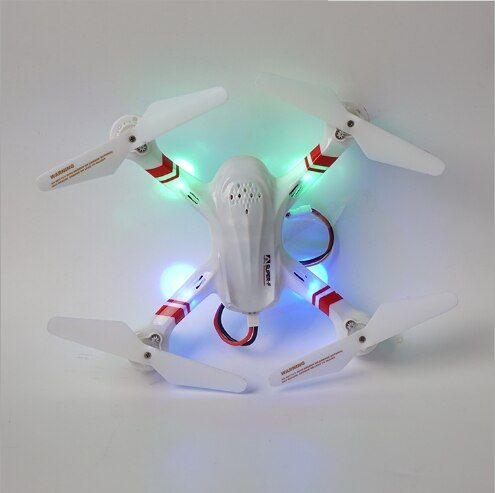 7777 Hesrxacopter aerial photo 2.4G 6 Axis Gyro Quad copter 4CH for kid dron RTF Helicopter Moving Flashing Light BIK35cm