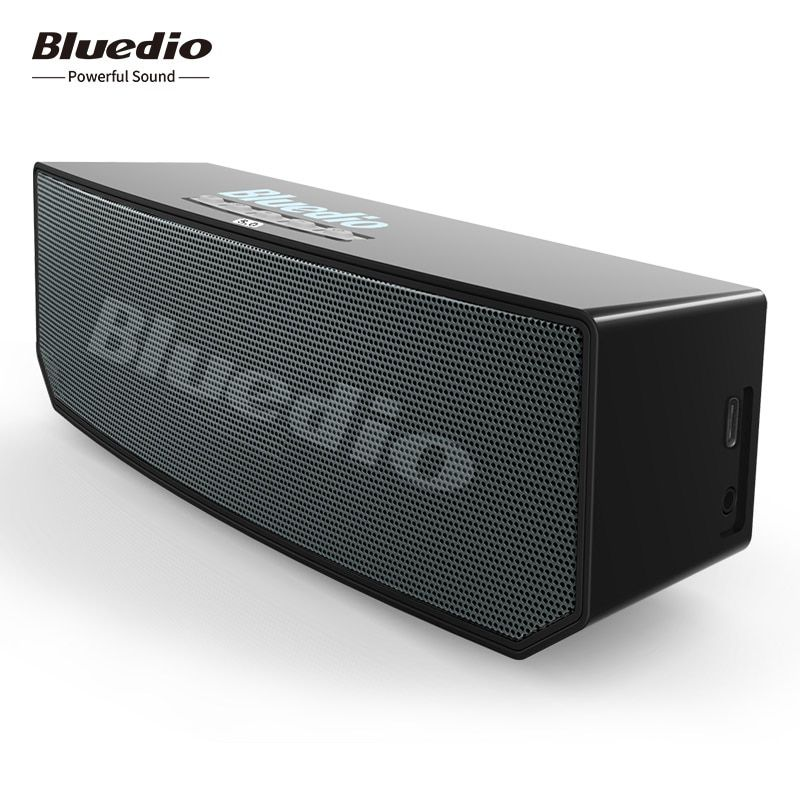 2018 New Bluedio BS-6 mini Bluetooth Speakers Portable wireless speaker with Microphone loudspeaker supoort APTX & Voice control