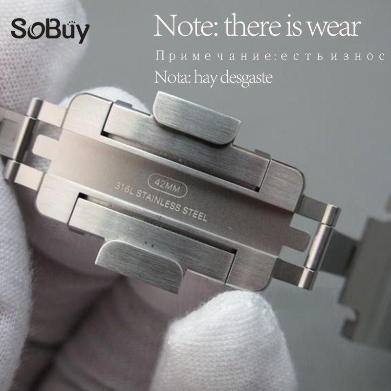 Genuine Original Strap For correas Apple Watch band 42mm 38mm Stainless metal Steel iwatch Series 3/2/1 link Bracelet watchband
