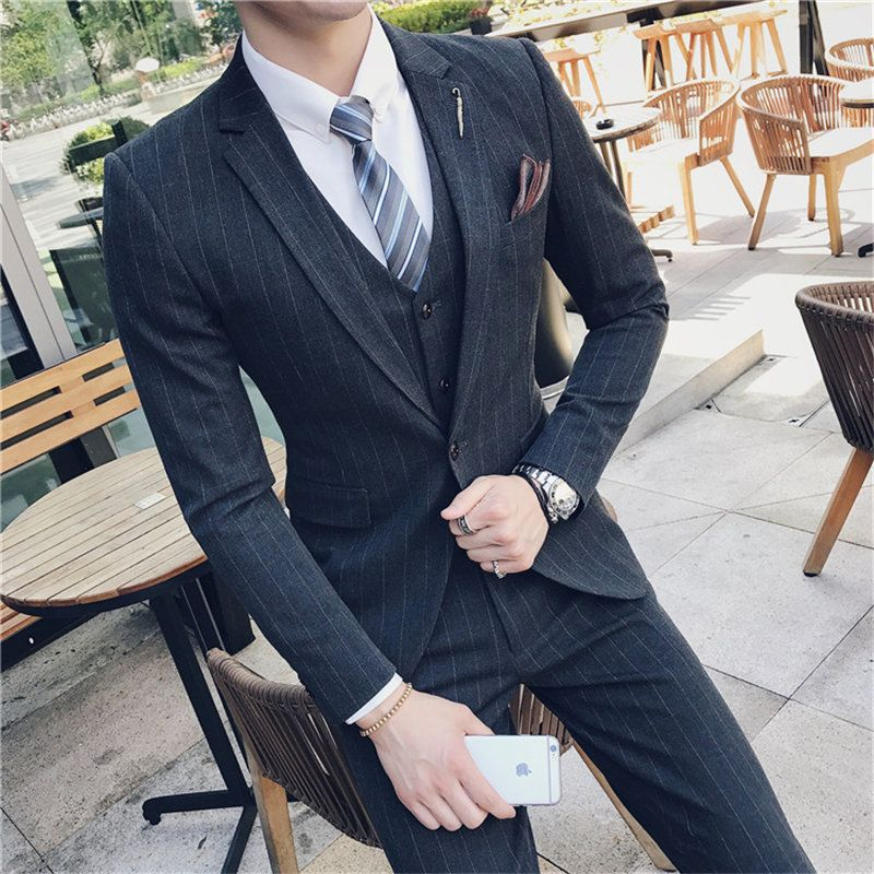 Terno Masculino Suit Men Costume Homme Kingsman Costume Men Wedding Suits Slim Fit Men's Suits Chalecos Para Hombre