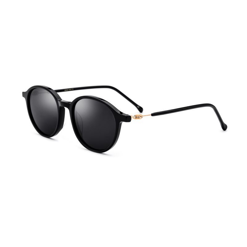 Black/Brown Polarized Sunglasses Women Oval 4 Color UV400 Glasses for Women Come With Box Size 48-20-140mm