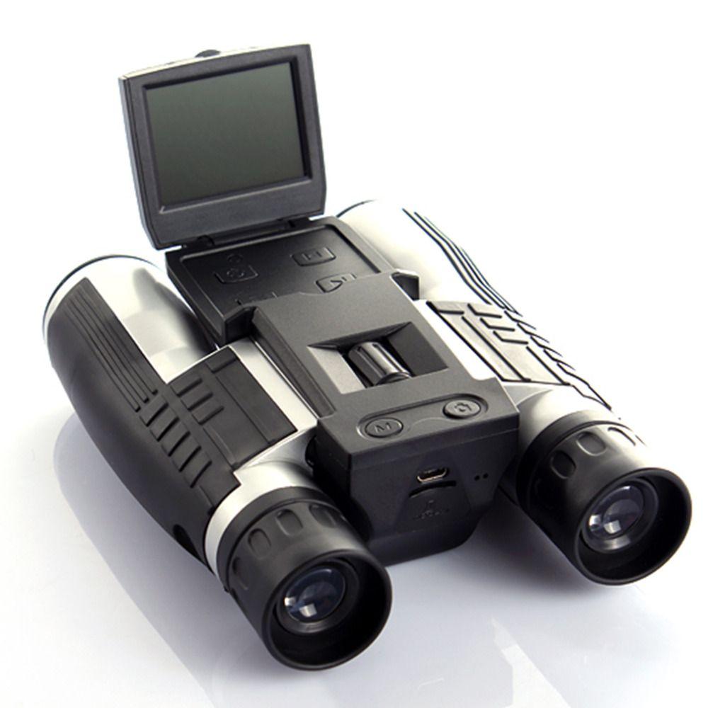 12x32 HD Binoculaire Télescope appareil photo numérique 5 MP appareil photo numérique 2.0 ''tft full hd 1080 p télescope caméra livraison gratuite