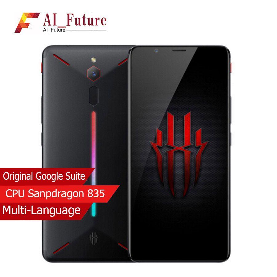 Original ZTE Nubia Red Magic Game Mobile Phone 6