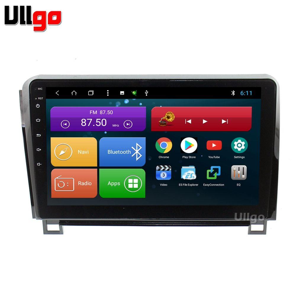 10,1 zoll Android 8.1 Auto Head Unit für Toyota Tundra Sequoia Auto Stereo GPS Autoradio GPS mit BT Radio RDS Spiegel -link Wifi