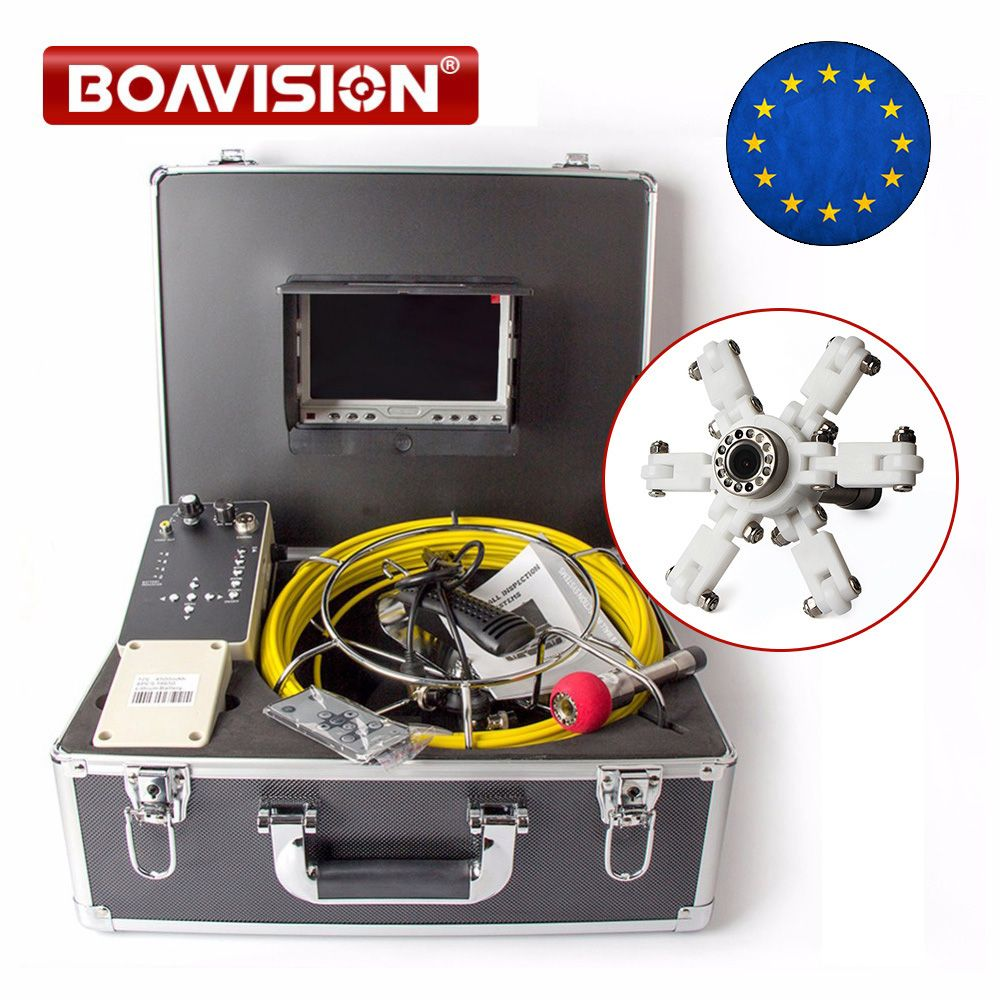 Drain Pipe Inspection Camera System Equipment With DVR Function 7