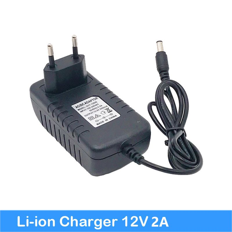NEW 12V Charger 12v 18650 Lithium Battery Charger DC 5.5* 2.1 MM Power Adapter+ Free shipping Turmera 18650charger 12V jun 28