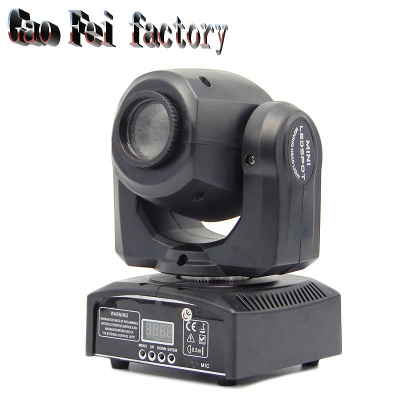 LED 30W spot moving head lights/Party disco dj stage lighting/30W mini gobo projector/DMX stage effect light/LED pattern lamps