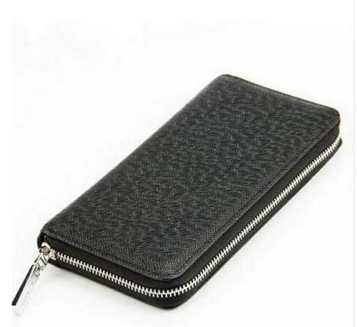 Hot selling!!!!!2018 new fashion women/men wallet genuine leather zipper wallet with good qaulity free shipping