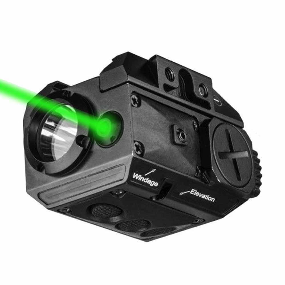2in1 Combo Red / Green Laser + Flashlight Tactical Weapon Light subzero Torch For Pistol Gun Rifle with Picatinny Rail