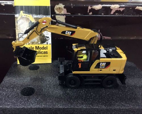 Caterpillar Cat M318F Rädern Bagger 1/50 Skala Metall Modell Bau Durch Diecast Meister DM85508