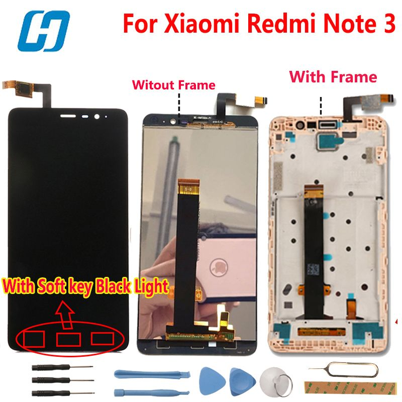 Xiaomi Redmi Note 3 LCD Display +Touch Screen Digitizer Glass Panel Assembly Screen For Xiaomi Redmi Note 3 Pro Prime FHD 5.5''
