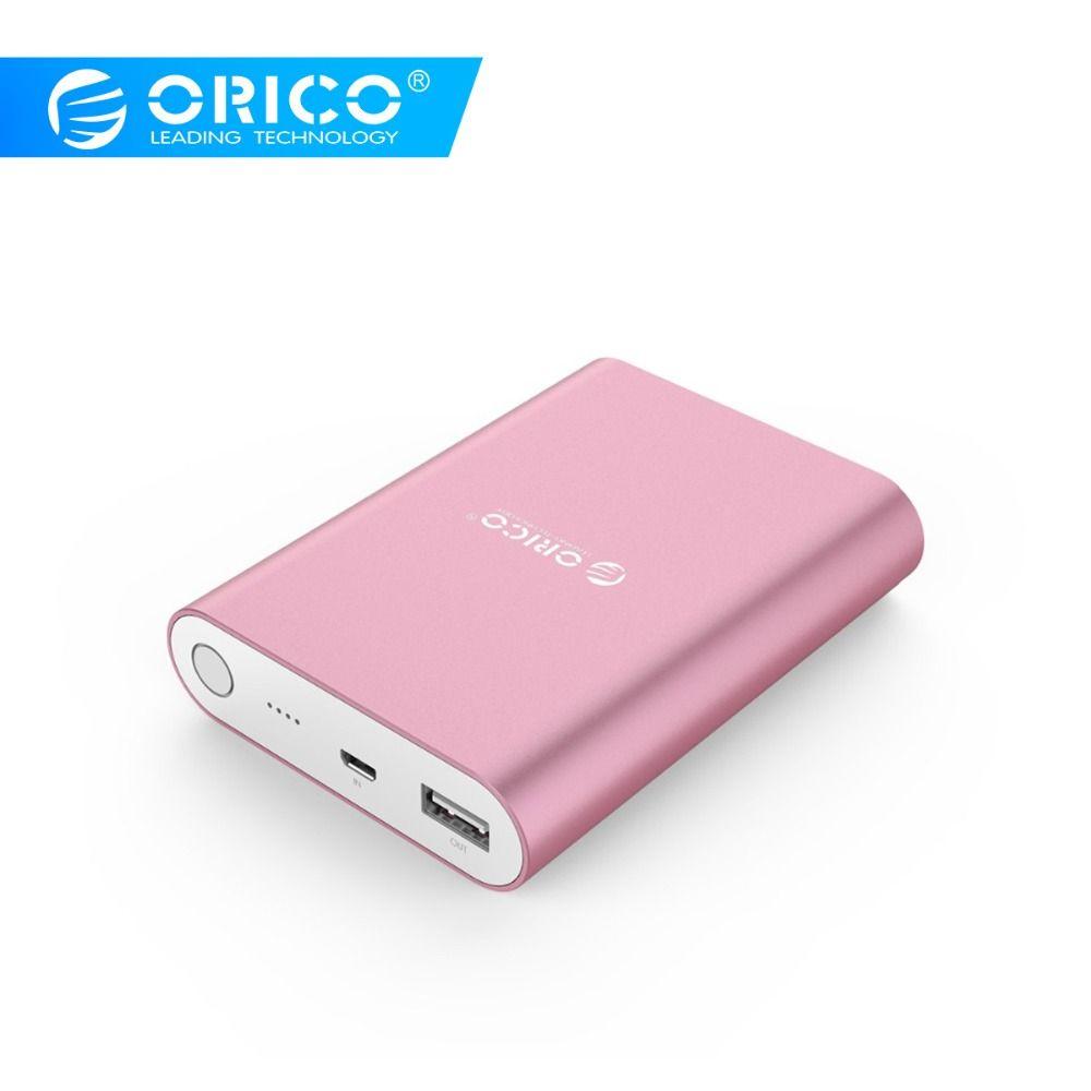 ORICO 10400mah batterie externe QC2.0 Portable batterie externe charge rapide pour Samsung Xiaomi Huawei