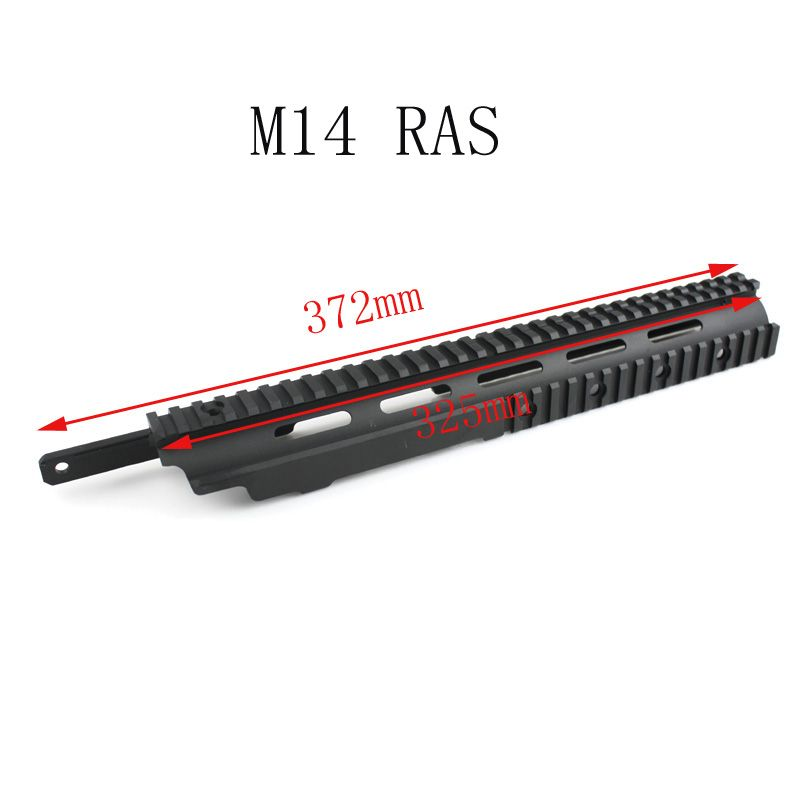 Tactical M14 Handguard rail system for M14 Airsoft AEG Free shipping