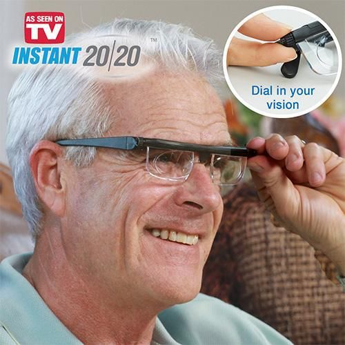 [TOOL] 2017 The latest hot style Adjustable vision correction zoom lens glasses Reading glasses magnifying  Dial Vision #0053
