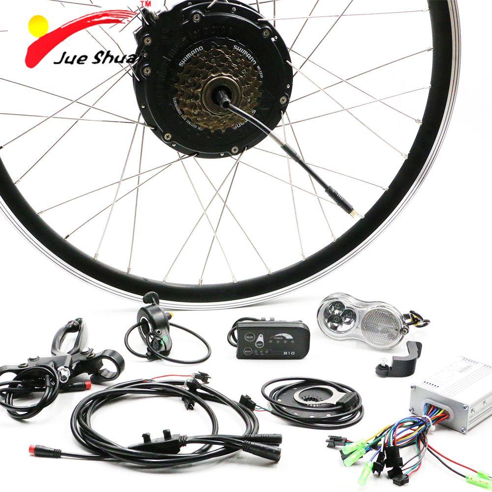 36V 500W Electric Bike E Bike Rear Wheel Motors for 26