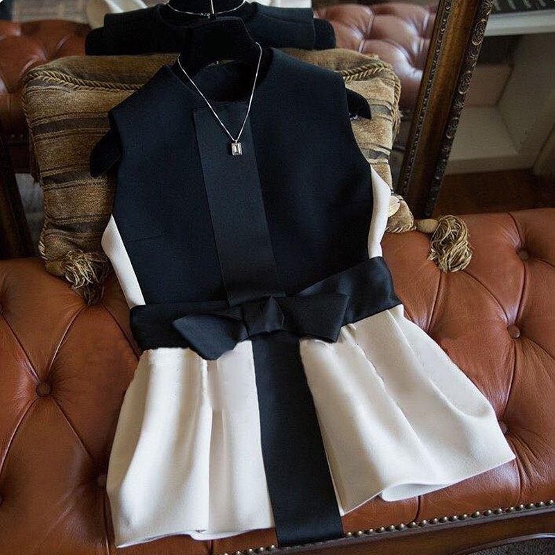 2019 nouvelle mode gilet femmes de haute qualité élégant arc Patten Veste Femme sans manches vestes manteau printemps gilet Colete Feminino
