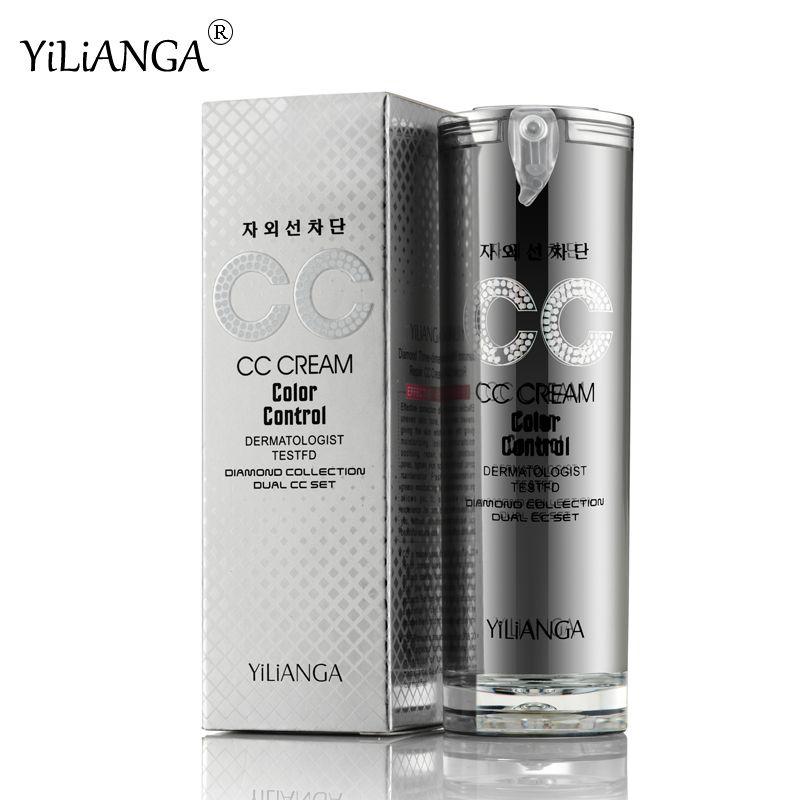 Loumesi fond de teint concaler bb crème de maquillage fond de teint correcteur crème nude maquillage naturel couverture parfaite bb cc crème