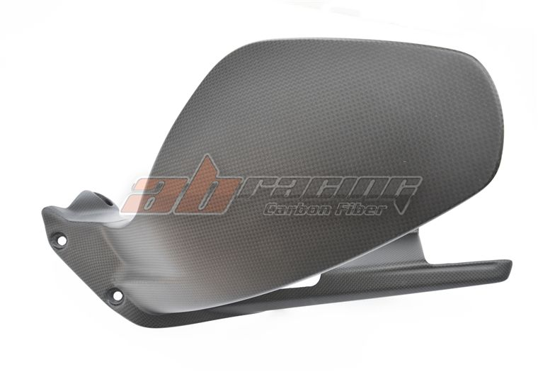 Hinten Fender Mud guard Für Ducati V4/S Volle Carbon Faser 100%